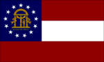 Georgia State Flag