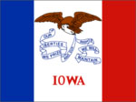 Iowa State Flag
