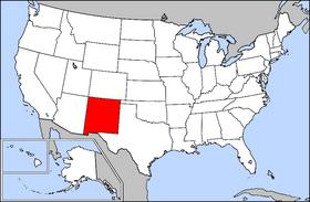 New_Mexico Location