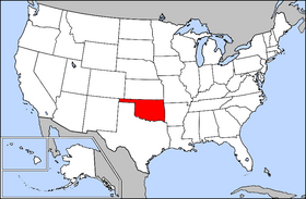 Oklahoma Information Hometown USA - Oklahoma map us