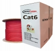 1000 Ft Cat6 plenum bulk pure copper UTP Networking cable